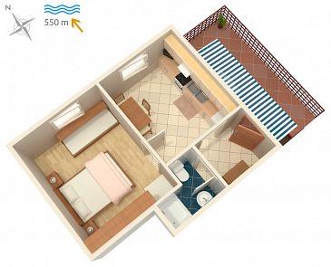 Apartment A-5303-c - Apartments and Rooms Malinska (Krk) - 5303