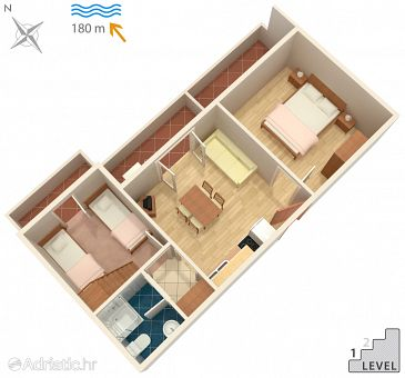 Apartment A-532-a - Apartments Pag (Pag) - 532