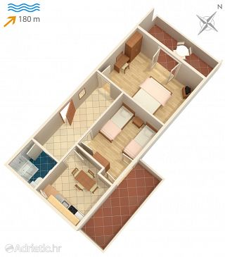 Apartment A-532-b - Apartments Pag (Pag) - 532