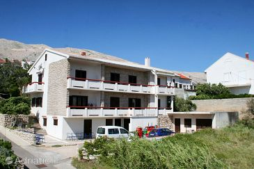 Property Pag (Pag) - Accommodation 532 - Apartments near sea with pebble beach.
