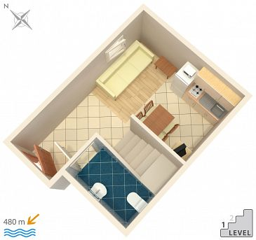 Apartment A-5320-b - Apartments Njivice (Krk) - 5320