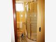 Njivice, Bathroom u smještaju tipa apartment, dopusteni kucni ljubimci i WIFI.