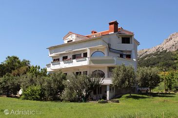 Property Baška (Krk) - Accommodation 5339 - Apartments with pebble beach.