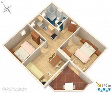 Apartment A-5342-c - Apartments Baška (Krk) - 5342