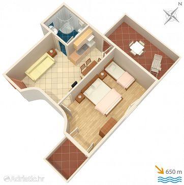 Apartment A-5354-b - Apartments Baška (Krk) - 5354
