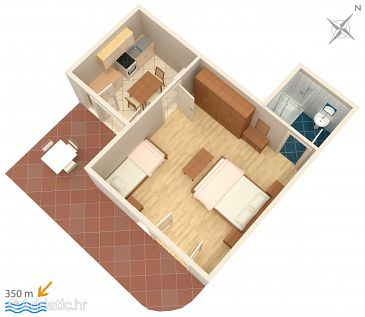 Apartment A-536-b - Apartments Novalja (Pag) - 536