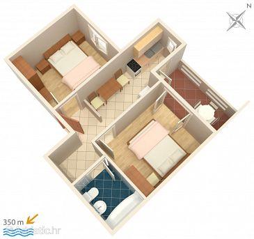 Apartment A-536-d - Apartments Novalja (Pag) - 536