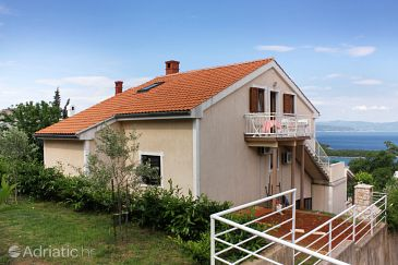 Property Njivice (Krk) - Accommodation 5362 - Apartments and Rooms with pebble beach.