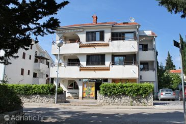 Property Krk (Krk) - Accommodation 5369 - Rooms with pebble beach.