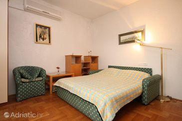 Jelsa, Living room u smještaju tipa apartment, dostupna klima i WIFI.