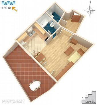 Apartment A-5395-a - Apartments Malinska (Krk) - 5395