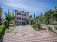 Parking lot Krk (Krk) - Accommodation 5396 - Apartments with pebble beach.