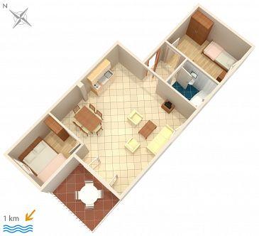 Apartament A-5397-c - Apartamenty Malinska (Krk) - 5397