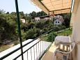 Balcony - Studio flat AS-542-a - Apartments Basina (Hvar) - 542