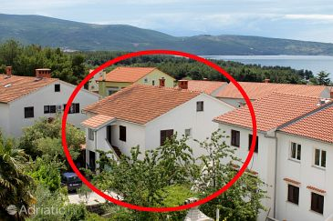 Property Krk (Krk) - Accommodation 5422 - Apartments with pebble beach.
