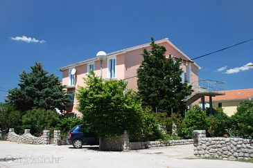 Property Šilo (Krk) - Accommodation 5436 - Apartments with sandy beach.