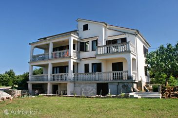 Tribulje, Krk, Property 5438 - Apartments with sandy beach.