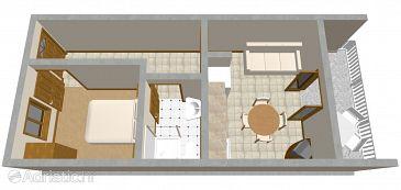 Apartment A-544-a - Apartments Prigradica (Korčula) - 544