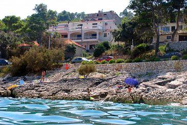 Obiekt Prigradica (Korčula) - Zakwaterowanie 544 - Apartamenty blisko morza ze żwirową plażą.