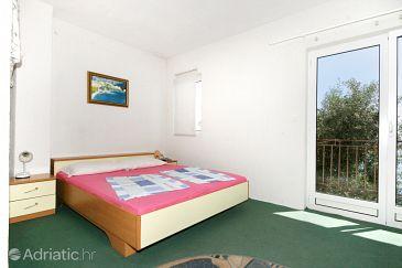 Stara Baška, Bedroom u smještaju tipa room, WIFI.