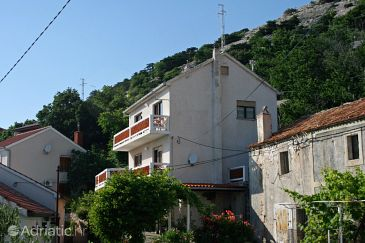 Property Stara Baška (Krk) - Accommodation 5448 - Apartments with pebble beach.