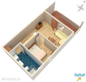 Apartment A-5449-c - Apartments Soline (Krk) - 5449