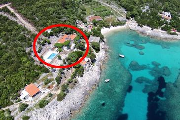 Property Uvala Rasohatica (Korčula) - Accommodation 5453 - Apartments near sea.