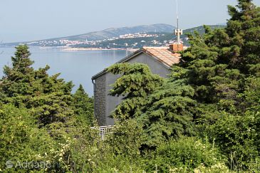 Property Klenovica (Novi Vinodolski) - Accommodation 5472 - Apartments and Rooms with pebble beach.