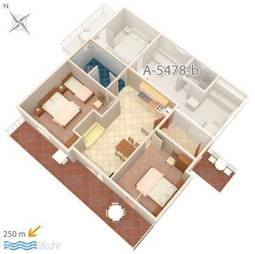 Apartment A-5478-d - Apartments Crikvenica (Crikvenica) - 5478