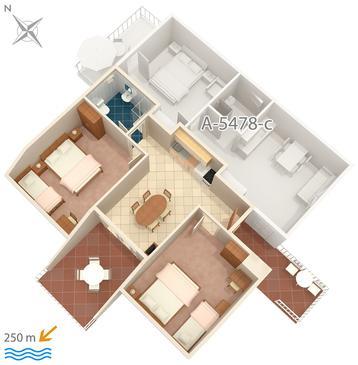 Apartament A-5478-e - Apartamenty Crikvenica (Crikvenica) - 5478