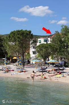 Property Crikvenica (Crikvenica) - Accommodation 5484 - Apartments near sea with pebble beach.