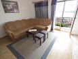 Crikvenica, Living room u smještaju tipa apartment, dostupna klima i WIFI.