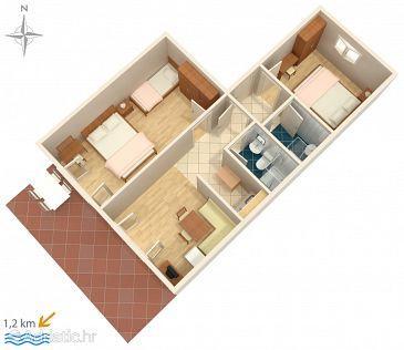 Apartment A-5494-c - Apartments Crikvenica (Crikvenica) - 5494