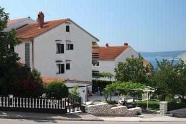 Obiekt Crikvenica (Crikvenica) - Zakwaterowanie 5494 - Apartamenty ze żwirową plażą.
