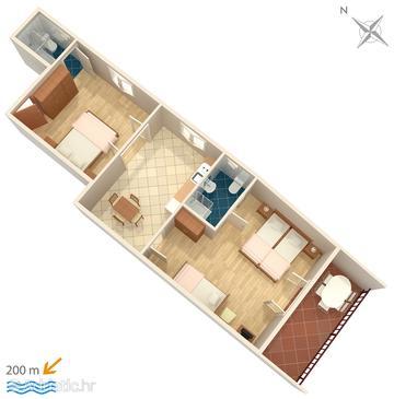 Apartment A-5496-b - Apartments Selce (Crikvenica) - 5496