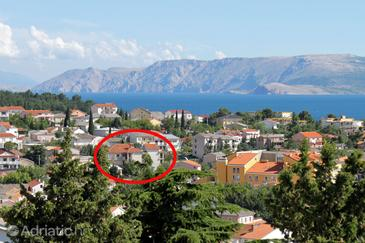 Property Selce (Crikvenica) - Accommodation 5496 - Apartments with pebble beach.