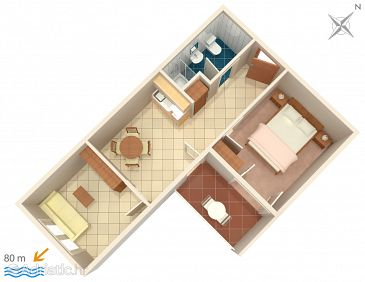 Apartment A-5500-a - Apartments Podstrana (Split) - 5500