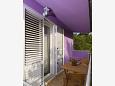 Balcony 1 - Apartment A-5503-a - Apartments Baška Voda (Makarska) - 5503