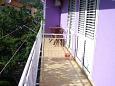 Balcony 2 - Apartment A-5503-a - Apartments Baška Voda (Makarska) - 5503