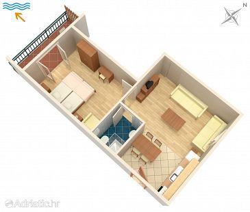 Apartment A-5514-b - Apartments Novi Vinodolski (Novi Vinodolski) - 5514