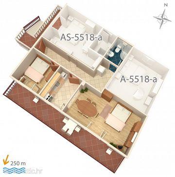 Apartment A-5518-d - Apartments Selce (Crikvenica) - 5518