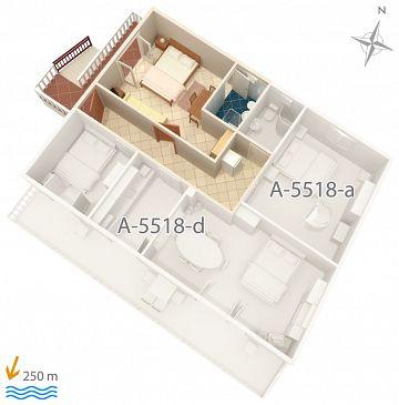 Studio flat AS-5518-a - Apartments Selce (Crikvenica) - 5518