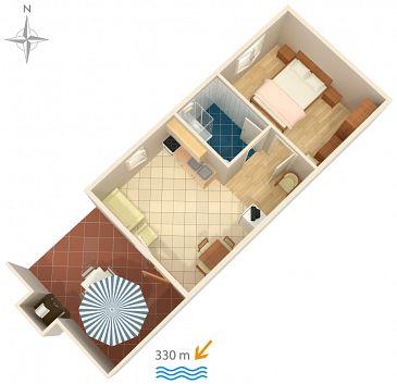 Apartament A-5533-b - Apartamenty Jadranovo (Crikvenica) - 5533