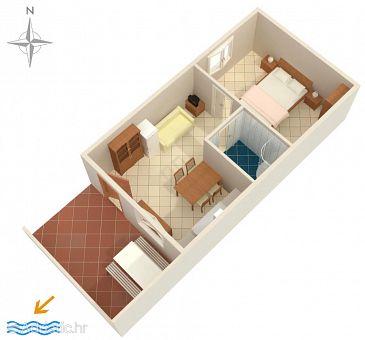 Apartment A-5535-b - Apartments Duga Luka (Prtlog) (Labin) - 5535