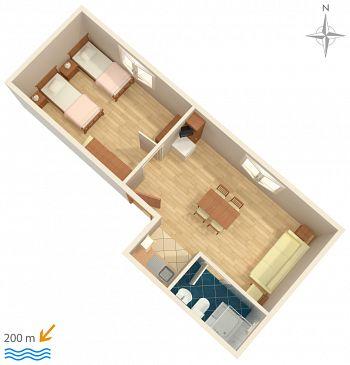 Apartment A-5545-a - Apartments and Rooms Novi Vinodolski (Novi Vinodolski) - 5545
