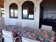 Terrace - Apartment A-5548-e - Apartments Klenovica (Novi Vinodolski) - 5548