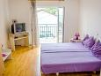 Bedroom - Studio flat AS-5551-b - Apartments Dramalj (Crikvenica) - 5551