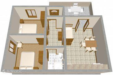 Apartment A-556-a - Apartments Tri Žala (Korčula) - 556