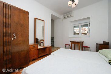 Selce, Living room u smještaju tipa apartment, dostupna klima.