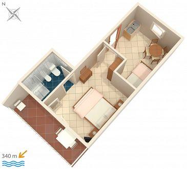 Apartament A-5578-b - Apartamenty Senj (Senj) - 5578